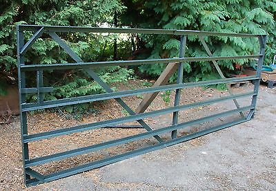 Farm Field Paddock Gate Solid Steal very strong used but serviceable