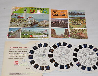 - SCENIC USA VIEW-MASTER Reels with Packet A-996  -