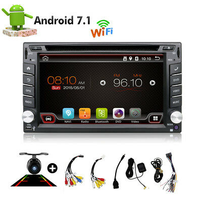 Android 6.0 Autoradio Bluetooth Navigation Doppel 2 DIN USB GPS 3G WIFI DVD USB