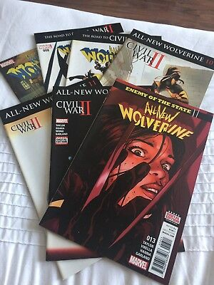 marvel comics The All New Wolverine