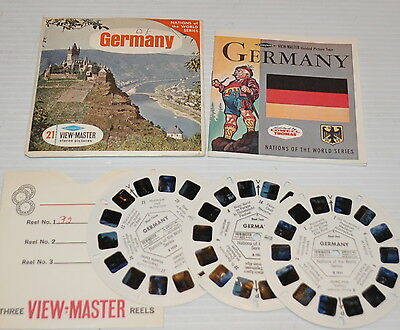 - GERMANY VIEW-MASTER Reels with Packet B-193 -
