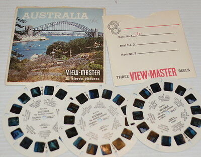 - AUSTRALIA VIEW-MASTER Reels with Packet B-288 -