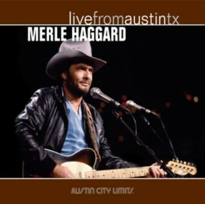 MERLE HAGGARD Live From Austin TX LP Vinyl NEW