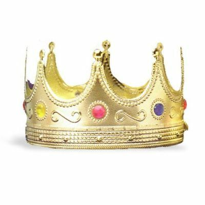 Forum Novelties - Regal King Crown, One-Size - FAST FREE SHIPPING!