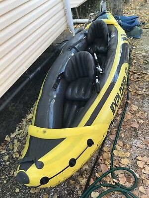 Canoe Kayak Gonflable Intex Explorer k2