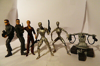 Terminator 3 rise of the machine T3 set of 6 collectable figures