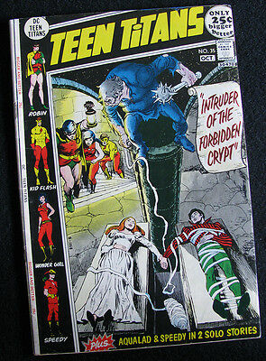 Teen Titans 35 (1971) Four Great Stories! Nice Mid-Grade! Large Photos!