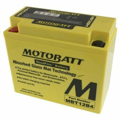 Motobatt Battery For Triumph Thruxton 865cc 09-13