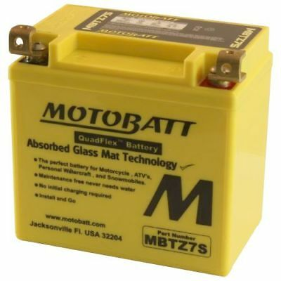 Motobatt Battery For Yamaha XC50 Vino Classic 50cc 06-14