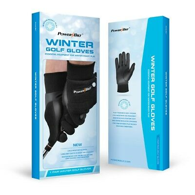 NEW PowerBilt Winter / Cold Weather Golf Gloves Pair - Choose Gender and Size!!
