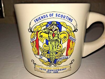 Cub Boy Scout Scouting Tea Coffee Mug Sam Houston Area Council Texas 1989 FOS
