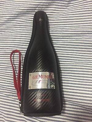G.H Mumm limited edition F1 champagne cooler case