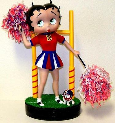 Very Rare Beautiful BETTY BOOP Limited Edition  CHEERLEADER  Porcelain Doll