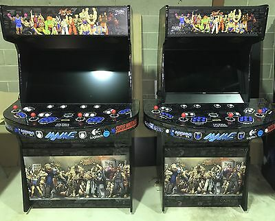 MonsterCade Arcade machines!!!   4 Players With 2TB Hyperspin  30,000+ Games!!