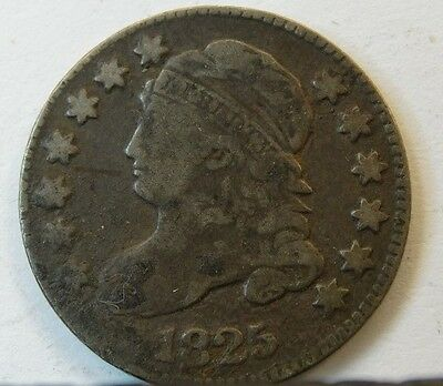 1825 U.s. 10C Capped Bust Dime