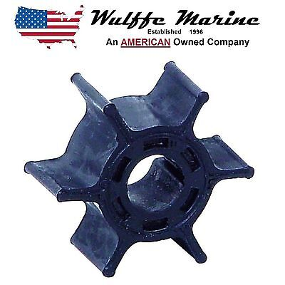 Water Pump Impeller for Yamaha Outboard 6 & 8 HP replcs 18-3066 6G1-44352-00-00