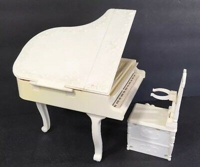 Rare Vintage Barbie Exclusive Sears Musical Playing Piano TOMY Hong Kong #60684