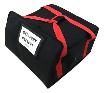 """PIZZA DELIVERY BAG (Size 18"""" x18"""" x8"""") Full Insulated all sides keep it warm"""
