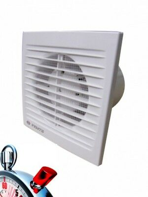 Bathroom Vent 125 ST, 180 M³/H , ( with Timer) Pipe Fan