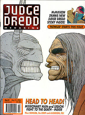 Judge Dredd Megazine #53 Volume 2 , May 1994 , 2000AD , Fleetway , VERY FINE