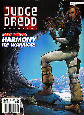 Judge Dredd Megazine #55 Volume 2 , Jun 1994 , 2000AD , Fleetway , VERY FINE