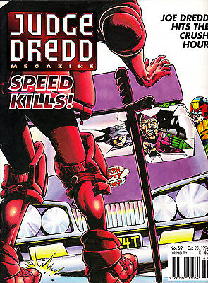 Judge Dredd Megazine #69 Volume 2 , Dec 1994 , 2000AD , Fleetway , VERY FINE