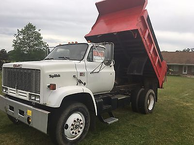1988 GMC Topkick Single Axle Dump Truck