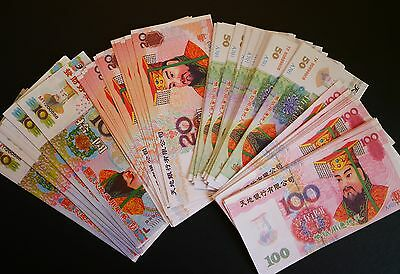 Chinese Hell Bank Notes Hell Money  Wholesale Lot of 100