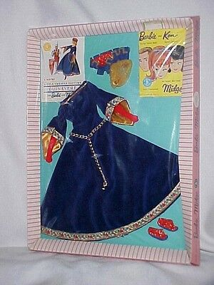 Vintage Barbie Guinevere Little Theater Outfit Nrfb #0873