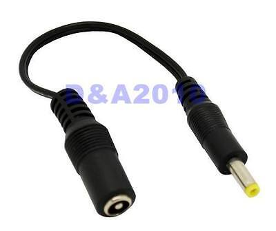 18cm 4.0 x 1.7 mm Male Plug to 5.5 x 2.1mm female socket DC Power Adapter cable