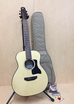 "37"" Caraya Spruce Top Traveler Series Acoustic Guitar+10mm Padded Bag,String Set"