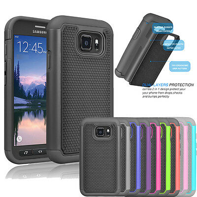 For Samsung Galaxy S7 Active Case Shockproof Protective Armor Rugged Back Cover