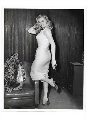 Vintage Photo Of Actress? 8 X 10 Inches