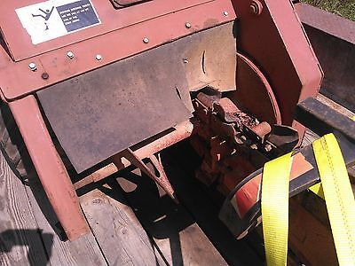 ditch witch 2510 ride on 4x4 trencher 6 way blade