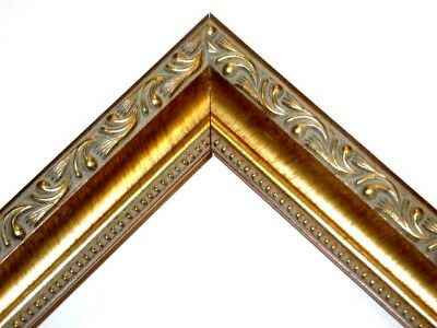 Gold English Victorian Ornate Wood Picture Frames-Custom Made Standard Sizes