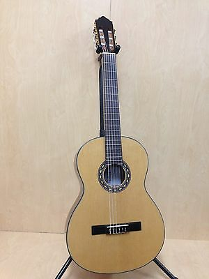 4/4 Klema K1C Nylon String Classical Guitar,Natual+Free Gig Bag,Extra String Set