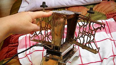 Antique Star Electric Toaster by Fitzgerald Mfg Co. Working