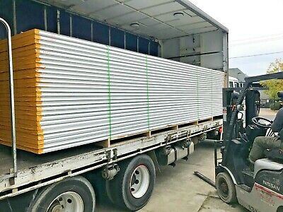 Insulated EPS  Z lock sandwich Coolroom panel 100mm