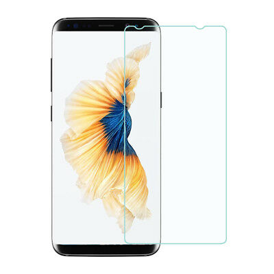 For Samsung Galaxy S8 Plus Clear Flat Tempered Glass Screen Cover (Not Curved)