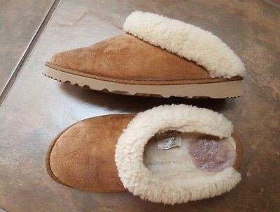 c6260b12e59 WOMENS UGG AUSTRALIA Cluggette Slippers Slip-On Clogs Shoes 5355 Brown W 6