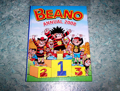 BEANO COMIC BOOK/ ANNUAL Year 2008- HC, 132 Pages
