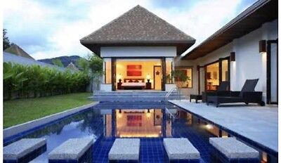 Boutique Thailand Luxury Holiday in a Private Pool Villa - 7 nights for 4 people