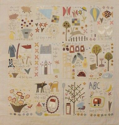 Dancing Chickens & Flying Pigs - BOM applique & pieced quilt PATTERN