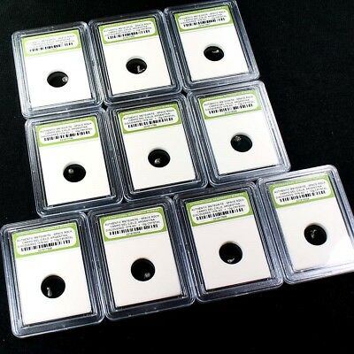 Lot of 10 Authentic Campo Del Cielo Meteorites Collection 2