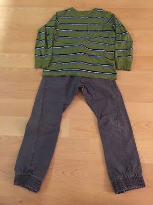 Trousers And Long Sleeve Top Age 7-8