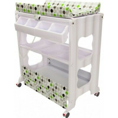 Infa Secure Cosmo Bath Station - Green Circles