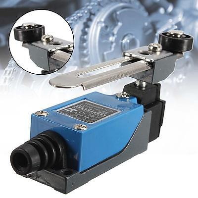 1X Blue ME-8108 Momentary with Roller Arm Limit Switch For CNC Mill Laser Plasma