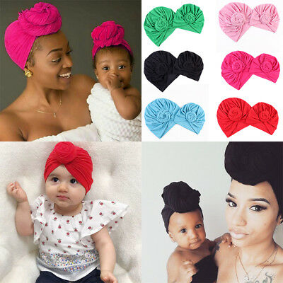 Parents Childs Casual India African Headscarf  Mother Daughter Hair headband new
