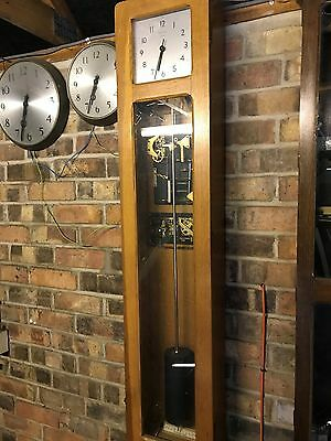 Vintage Electric Synchronome Master Clock With Clock Face, Collect Colchester