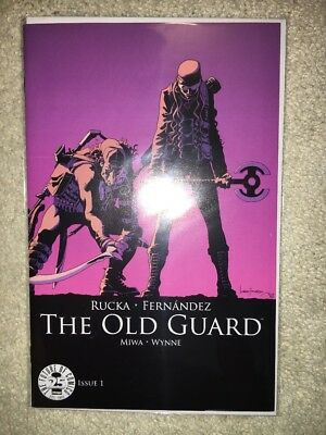 The Old Guard #1 25th Anniversary Image Blind Box Color Variant NM+